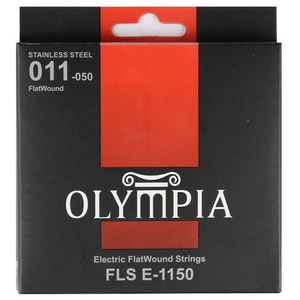 Olympia 올림피아 일렉기타 Flat Wound Stainless(011-050)뮤직메카
